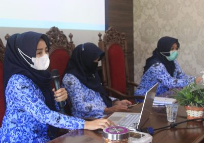 Inspektorat Sosialisasikan Pengisian SPIP di Bappeda Litbang